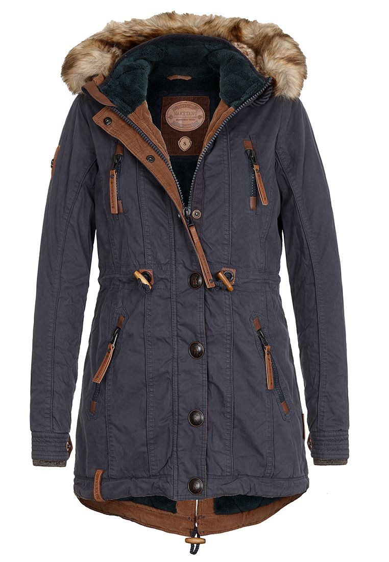 NAKETANO Procrastinator II Jacke für Damen Blau