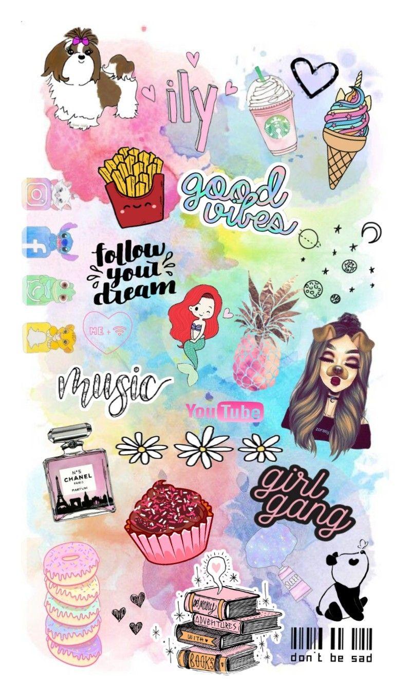 Doodle Girly Wallpaper Begirly Doodles Girly Girl Gang