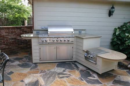 outdoor kitchen appliances google search like the angled pennisula - Simple Outdoor Kitchen Ideas