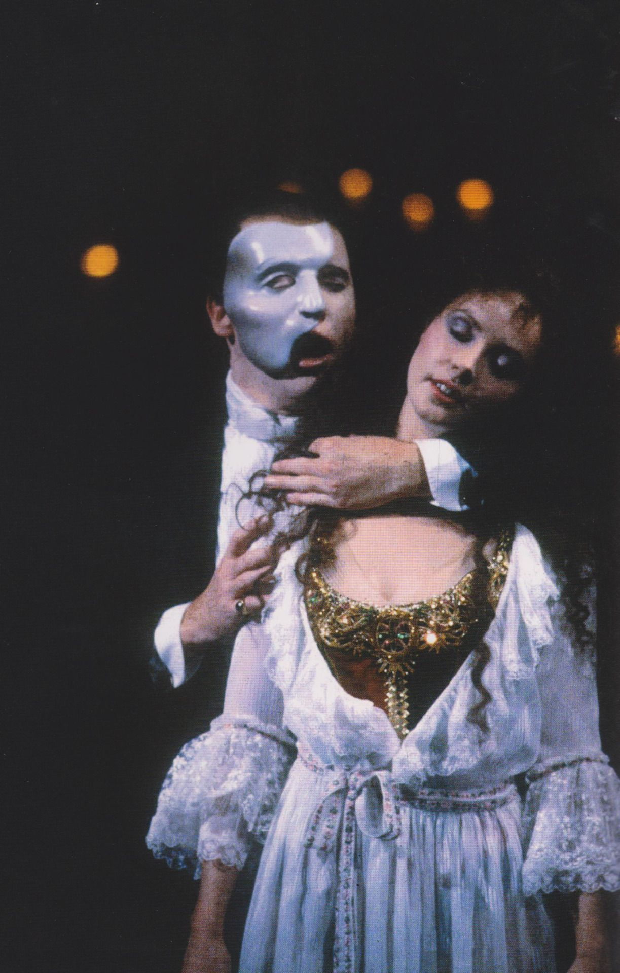Image result for phantom of the opera webber music of the night crawford brightman