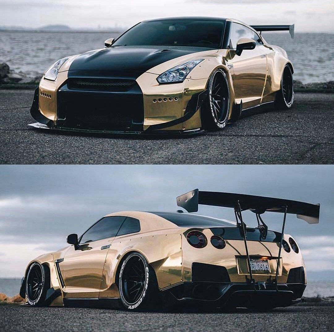 Custom Rose Gold And Black GT R
