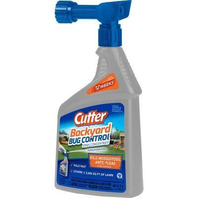 Cutter 32 Fl Oz Concentrate Backyard Bug Control Spray Hg 61067 6 The Home Depot Bug Control Spray Best Pest Control