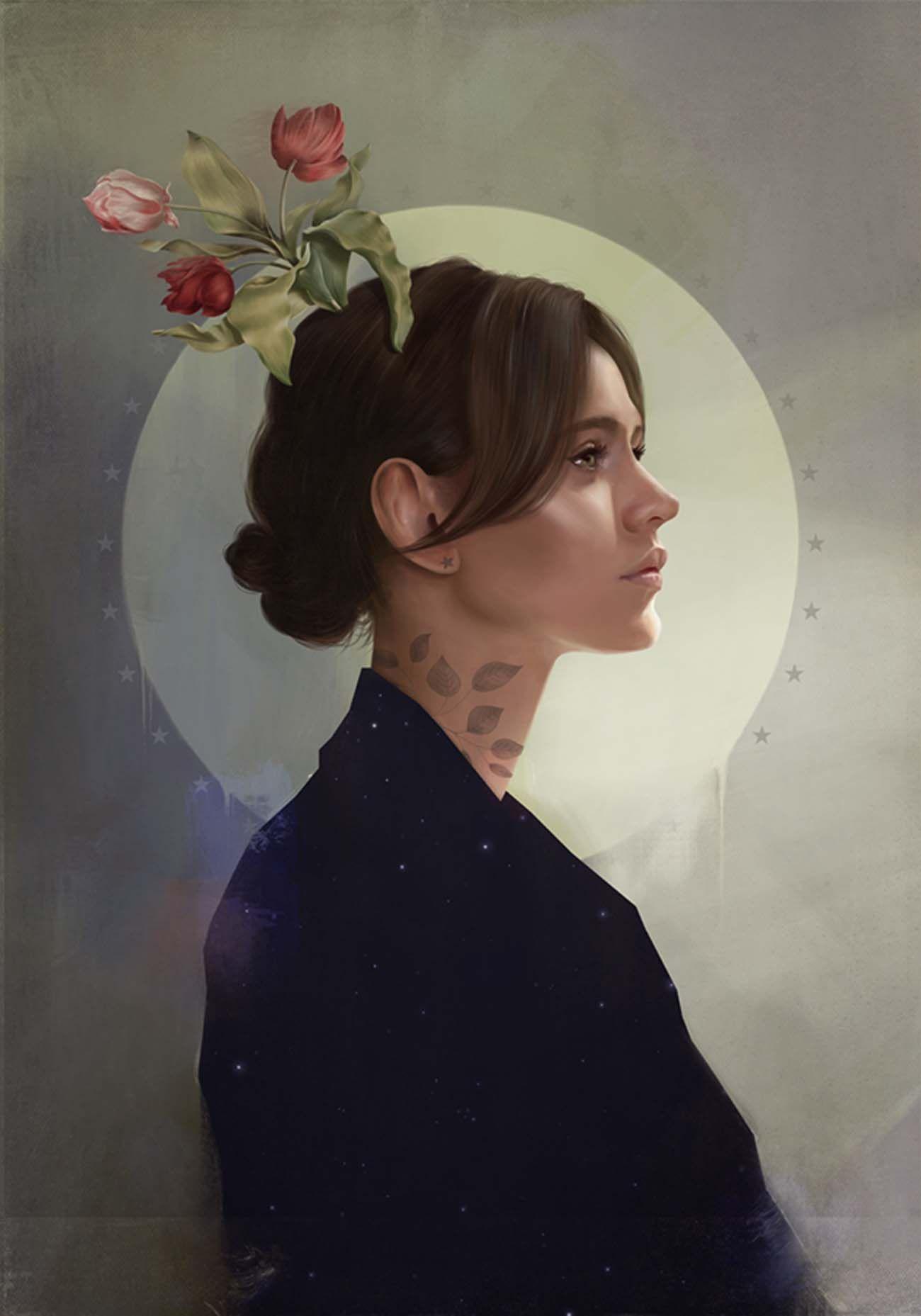 Digital Art Traditional Paintings