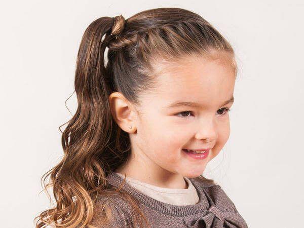 peinados para niñas con el pelo largo - buscar con google   niñas