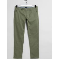 Photo of Gant Tech Prep ™ Slim Fit Chinos (Green) Gant