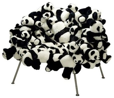 Banquete Chair With Pandas LIMITED EDITION By Fernando And Humberto Campana    USD 85,000.00 Design Ideas