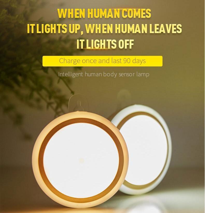 LED Motion Sensors Lights Night Light Bulb With Motion