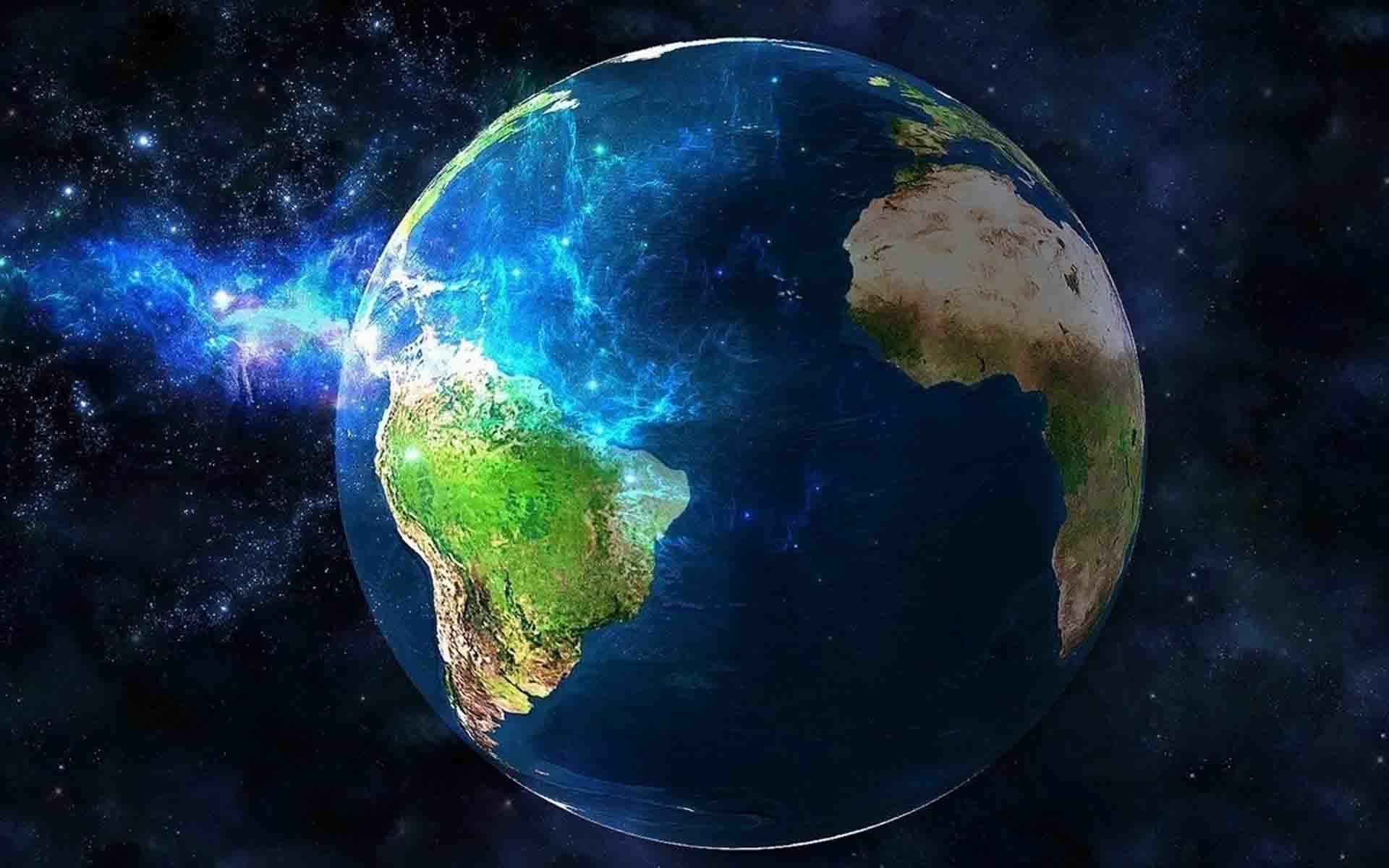 Blue Earth Hd Wallpaper Wallpaper Earth Earth From Space Earth Hd