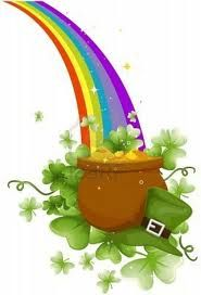 free leprechaun s pot of gold clipart st patrick s day party rh pinterest com