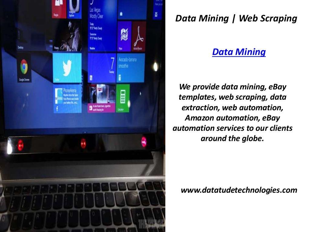 Data mining web scrapping data mining data mining