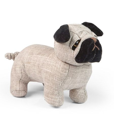 Pug Design iN Home Animal Character Draught Excluder
