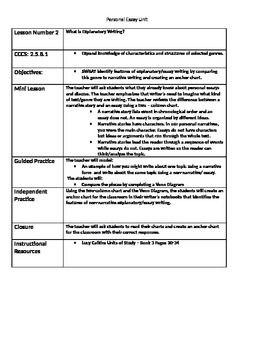 teacher personal essay