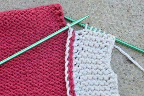 Photo of Opplæring – kantkant bli med – strikking