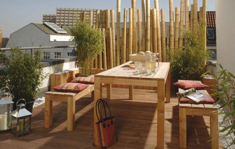 Clôtures de jardin en 59 idées captivantes | Brise vue bambou ...