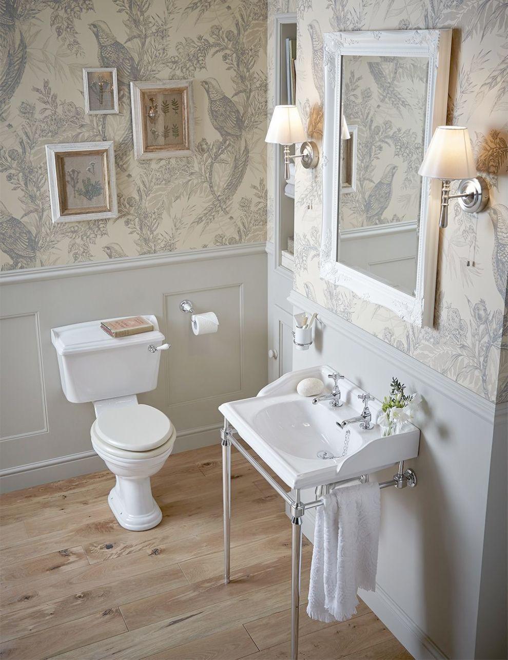 Oneisall S001a Luxury Bathroom Accessories Toilet Brush Holder Set