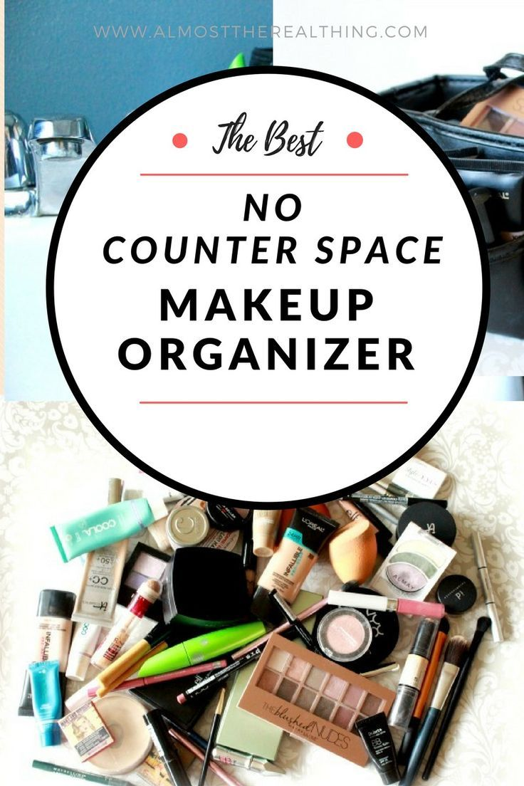 Delicieux Organize Your Makeup Even When You Have No Counter Space!