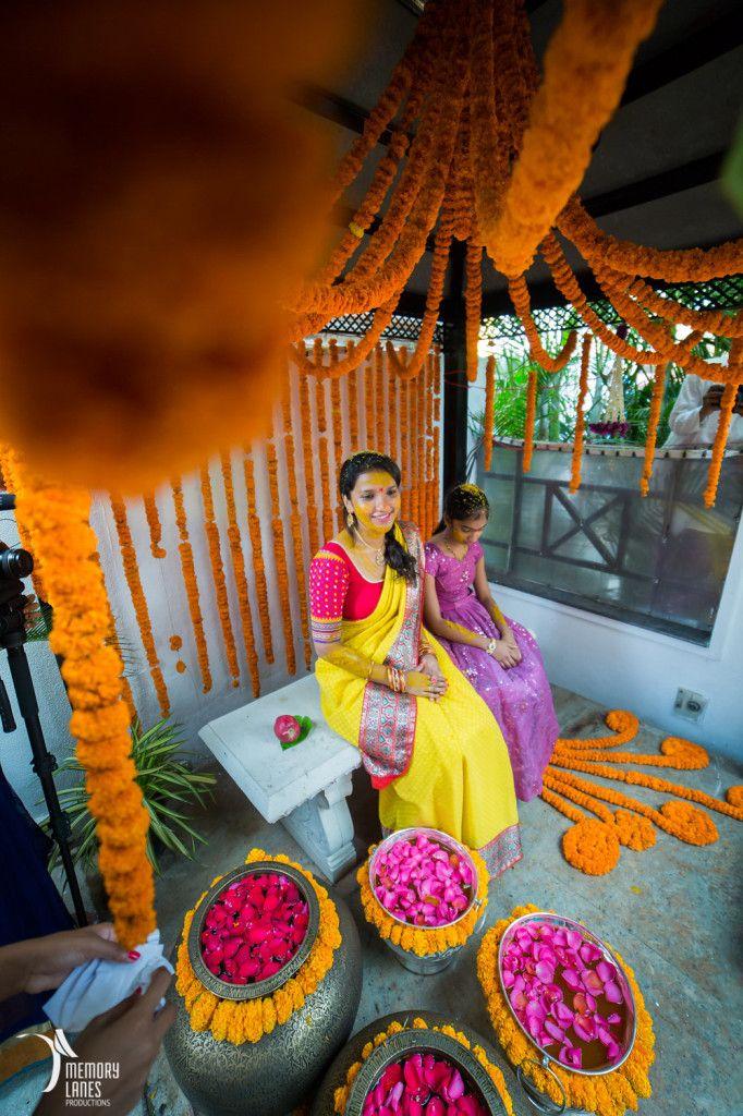 A Fairytale Fusion Wedding in Hyderabad! Home wedding