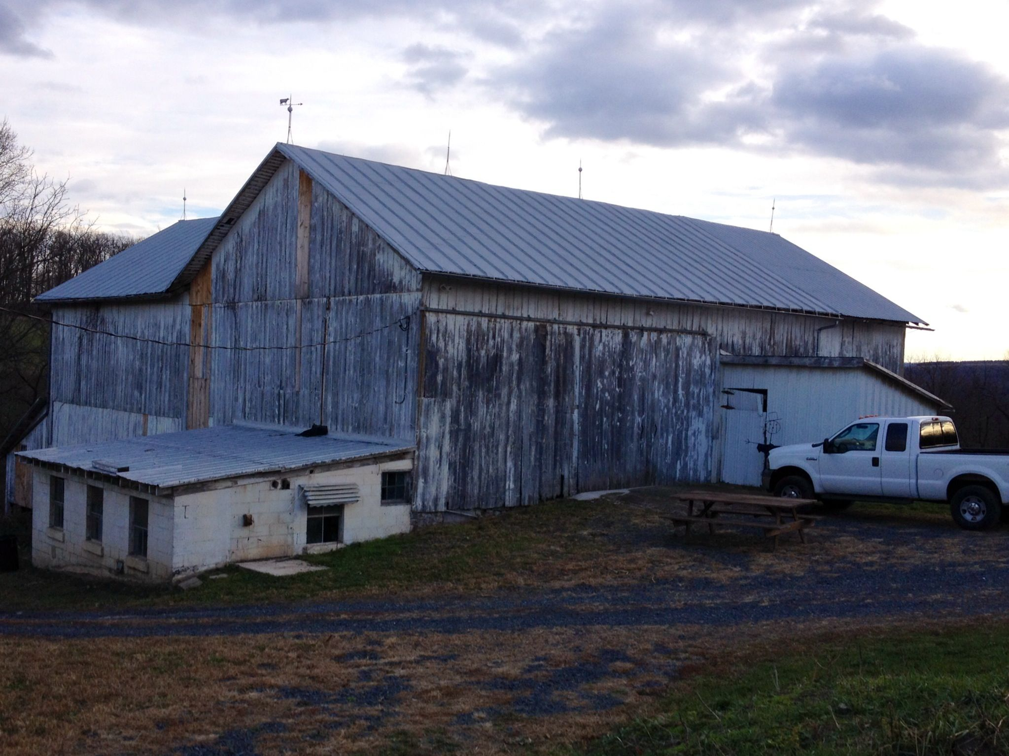 Pinnacle View Farms presents... The Barn! A great place for your rustic weddings and events