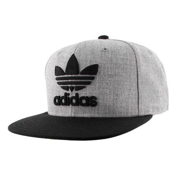 the latest 5375d 8079d Men s Adidas Originals  Trefoil Chain  Snapback Cap ( 26) ❤ liked on Polyvore  featuring men s fashion, men s accessories, men s hats, mens caps, ...