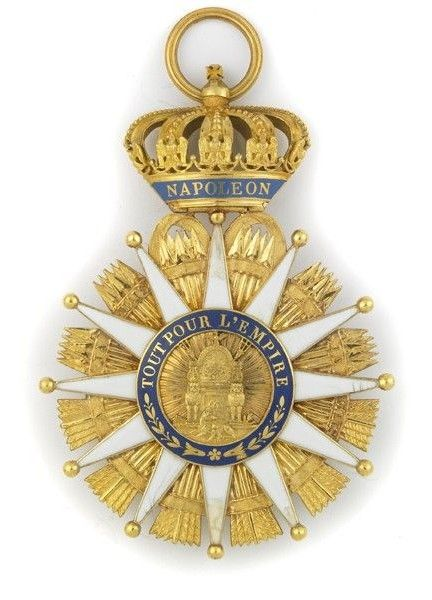 Napoleon Created Three Other Orders Of Merit Besides The Legion Of Honour The Order Of The Iron Crown 180 Military Decorations Military Medals Military Signs