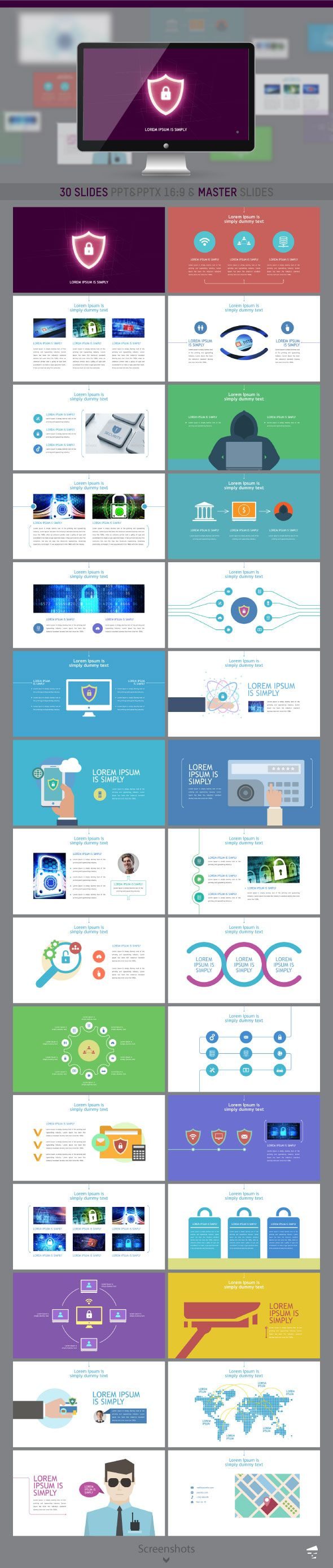Security presentation | PowerPoint Templates | Business powerpoint
