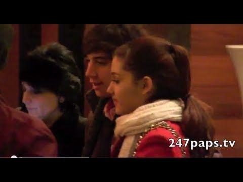 "Ariana Grande and Jai Brooks ""Jariana"" kiss in NYC"
