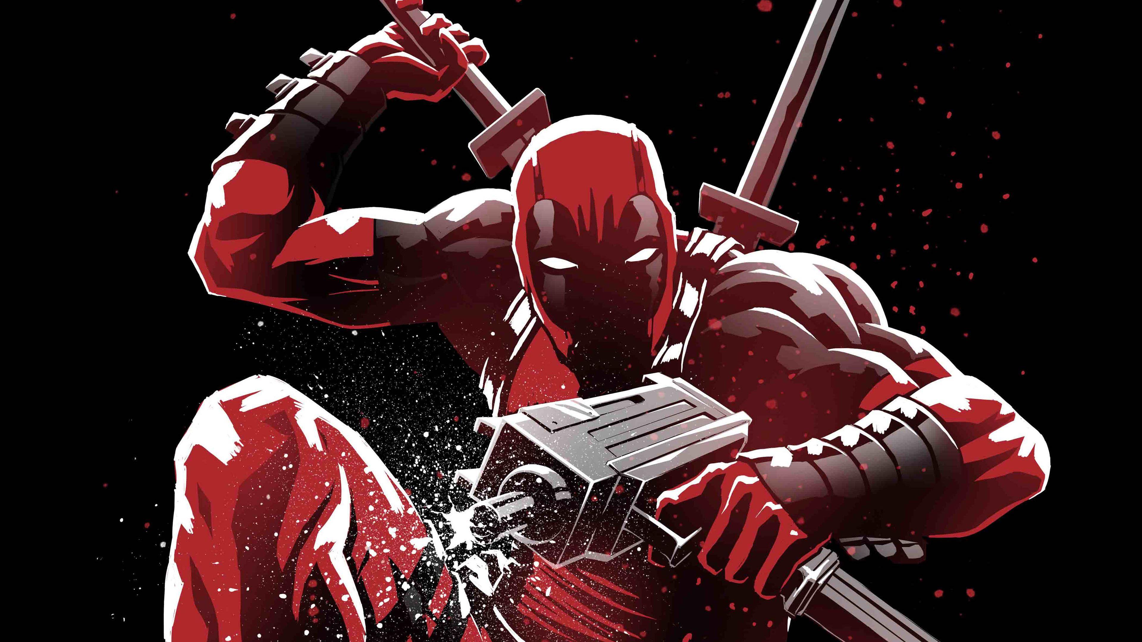4k Deadpool Superheroes Wallpapers Hd Wallpapers Digital Art