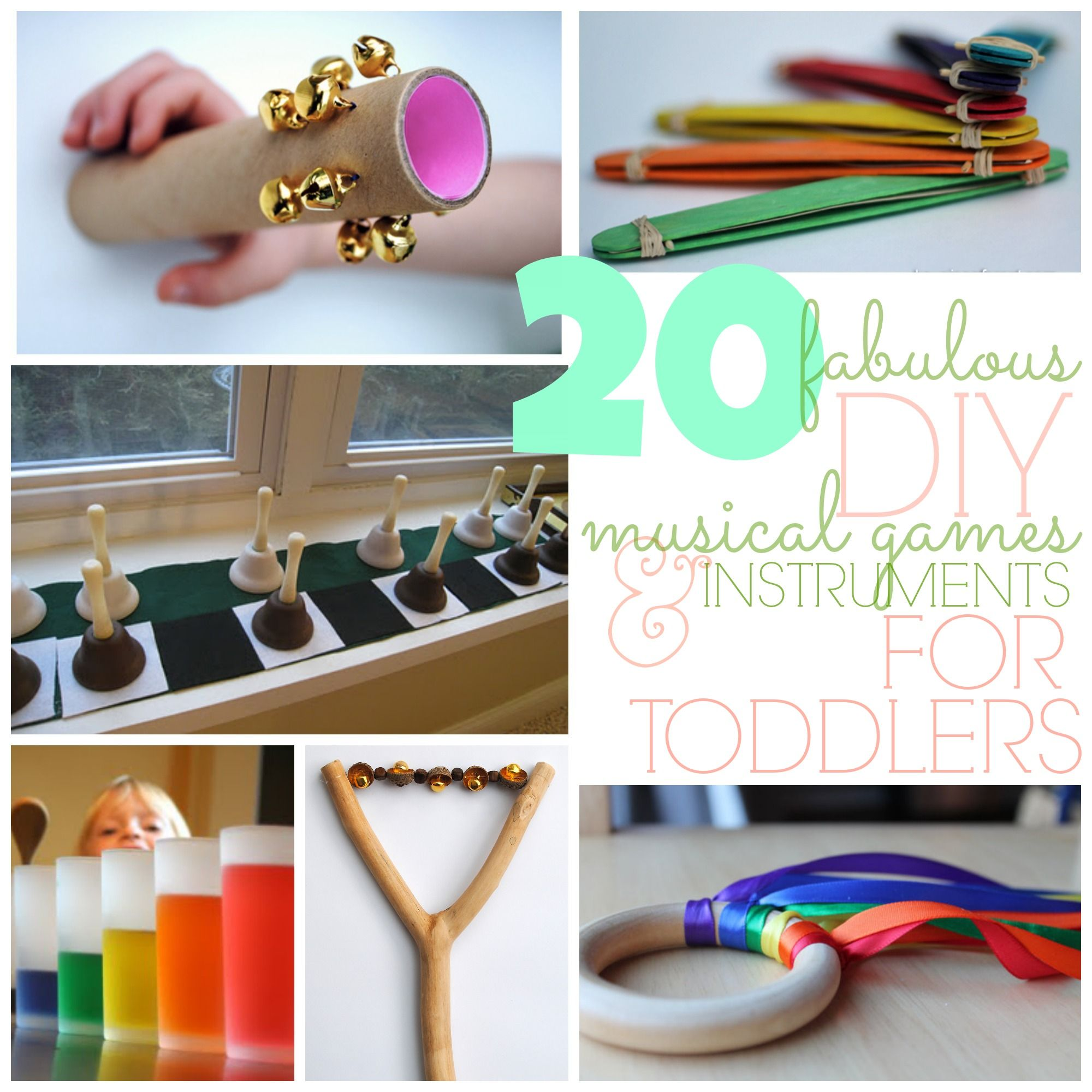 Activities Crafts Games: 20 Fabulous DIY Musical Games & Instruments For Toddlers