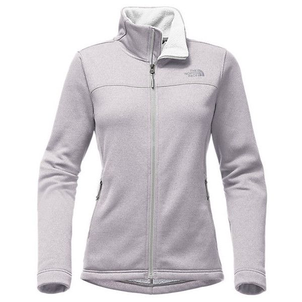 141b6be4f2b4 The North Face Women s Timber Full Zip Fleece Jacket (£76) ❤ liked on Polyvore  featuring the north face