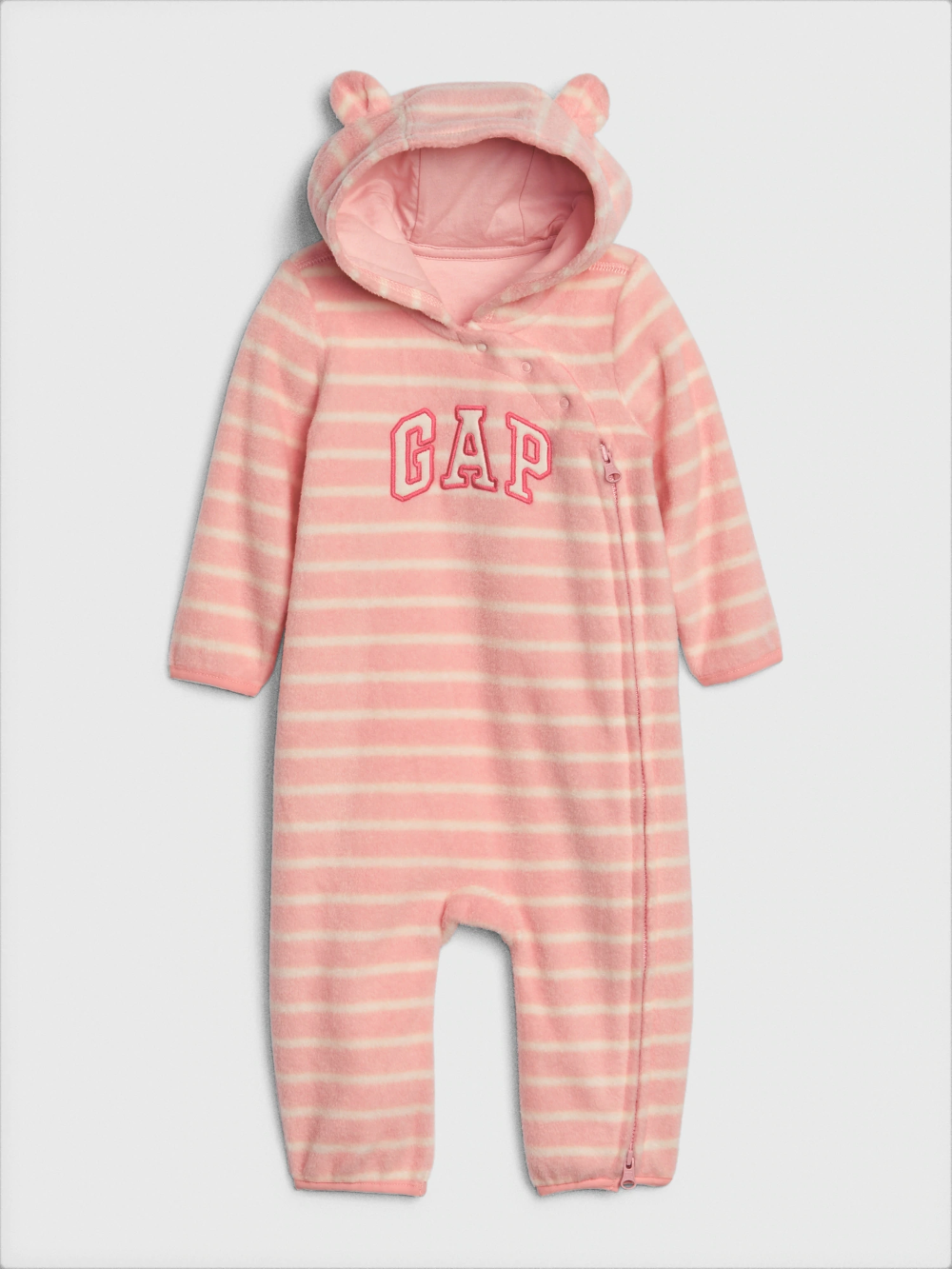 Gap Snap Hooded Romper for Babies//Toddlers