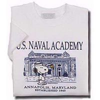 Naval Academy Youth Snoopy T-Shirt