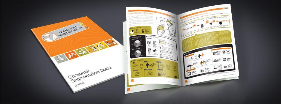 Orange marketing research report designed by Halo Media #halomedia