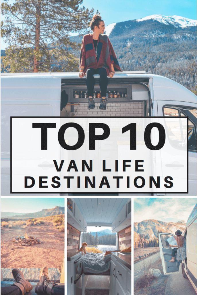 Photo of Top 10 Van Life Destinations in US   Divine On The road