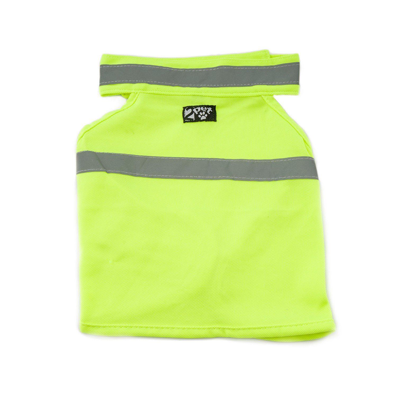 2pet dog hunting vest and safety reflective vest used for