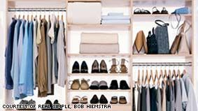 tips for organizing your closets