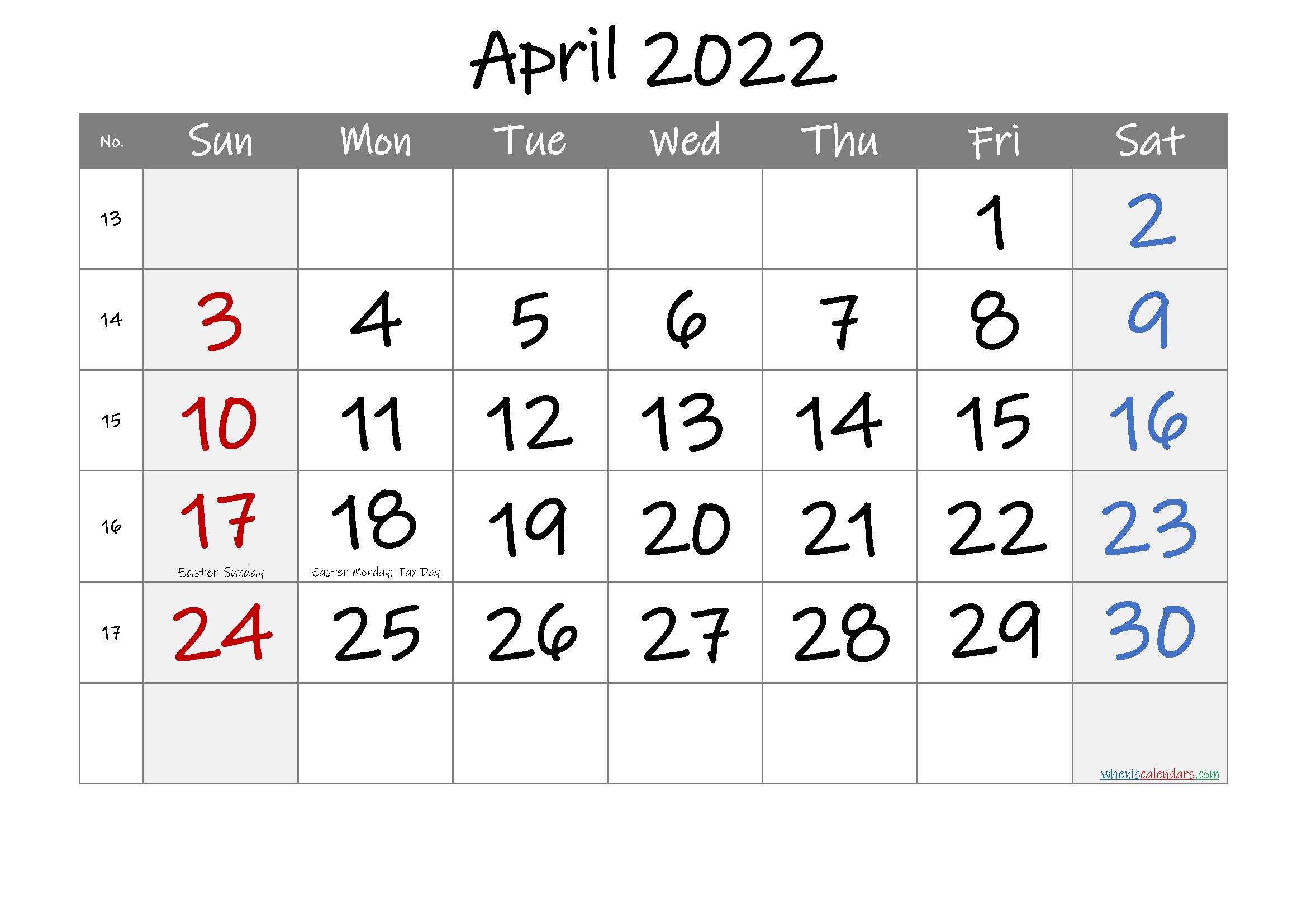 Calendar Of April 2022.Free Printable April 2022 Calendar Pdf And Png Calendar Printables Printable Calendar Template Calendar Template