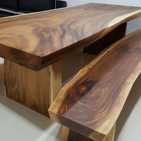 Suar Wood Table D21 Clementi Upper Bukit Timah