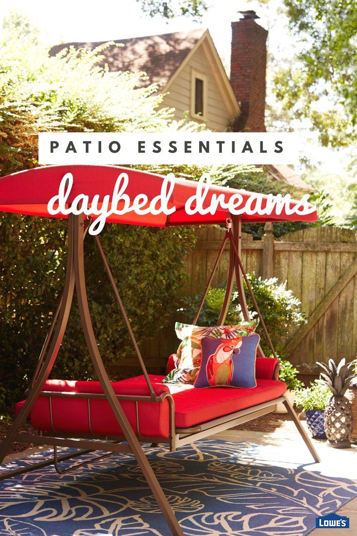 Add a swing to your porch or