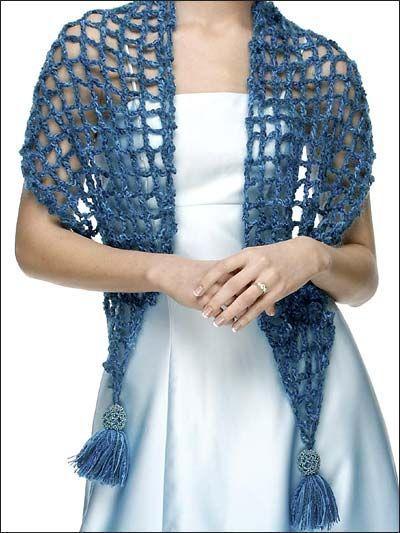 Crochet - Accessories - Crochet Shrugs, Wraps & Shawls Patterns ...