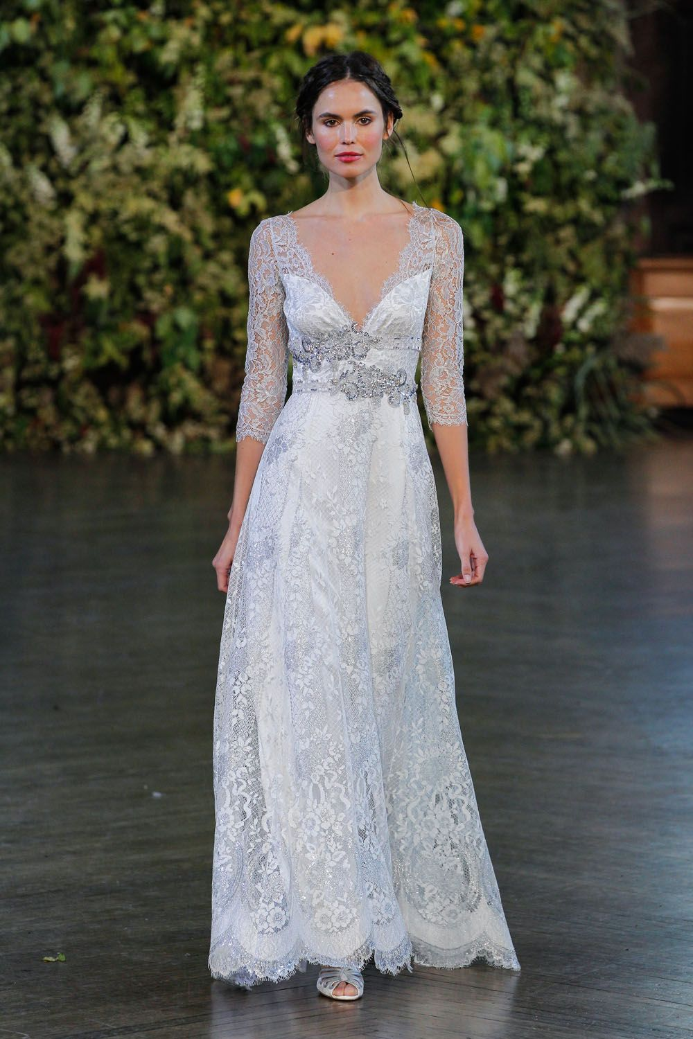 Claire Pettibone's Fall 2015 Wedding Dress Collection Is Seriously Romantic