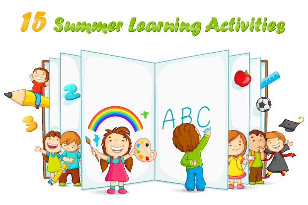 15 Summer Learning Activities for All Ages   Kids learning ...
