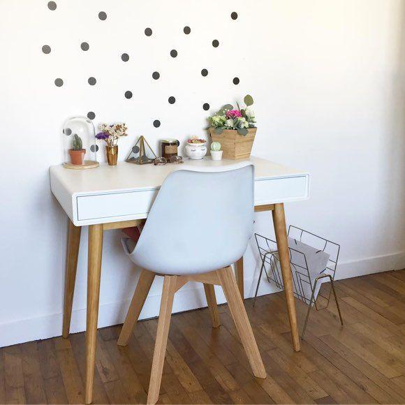 Très Mignon Ce Bureau Blanc Style Scandinave >> | Home Sweet Home