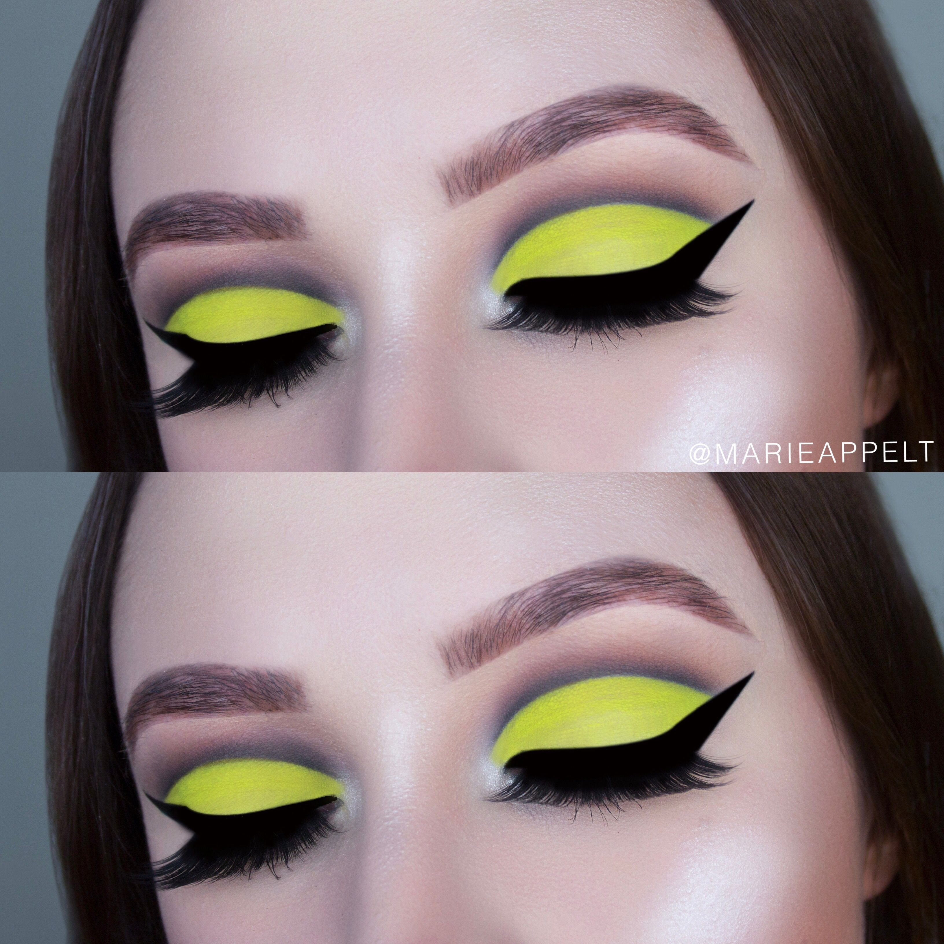 Neon cut crease makeup tutorial abh prism palette makeup look neon cut crease makeup tutorial abh prism palette makeup look makeup look baditri Images