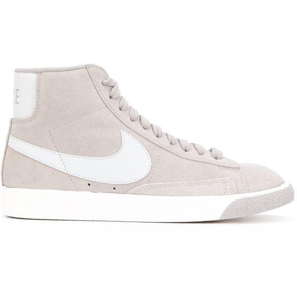 Nike Blazer Haute Sacs En Cuir Vintage