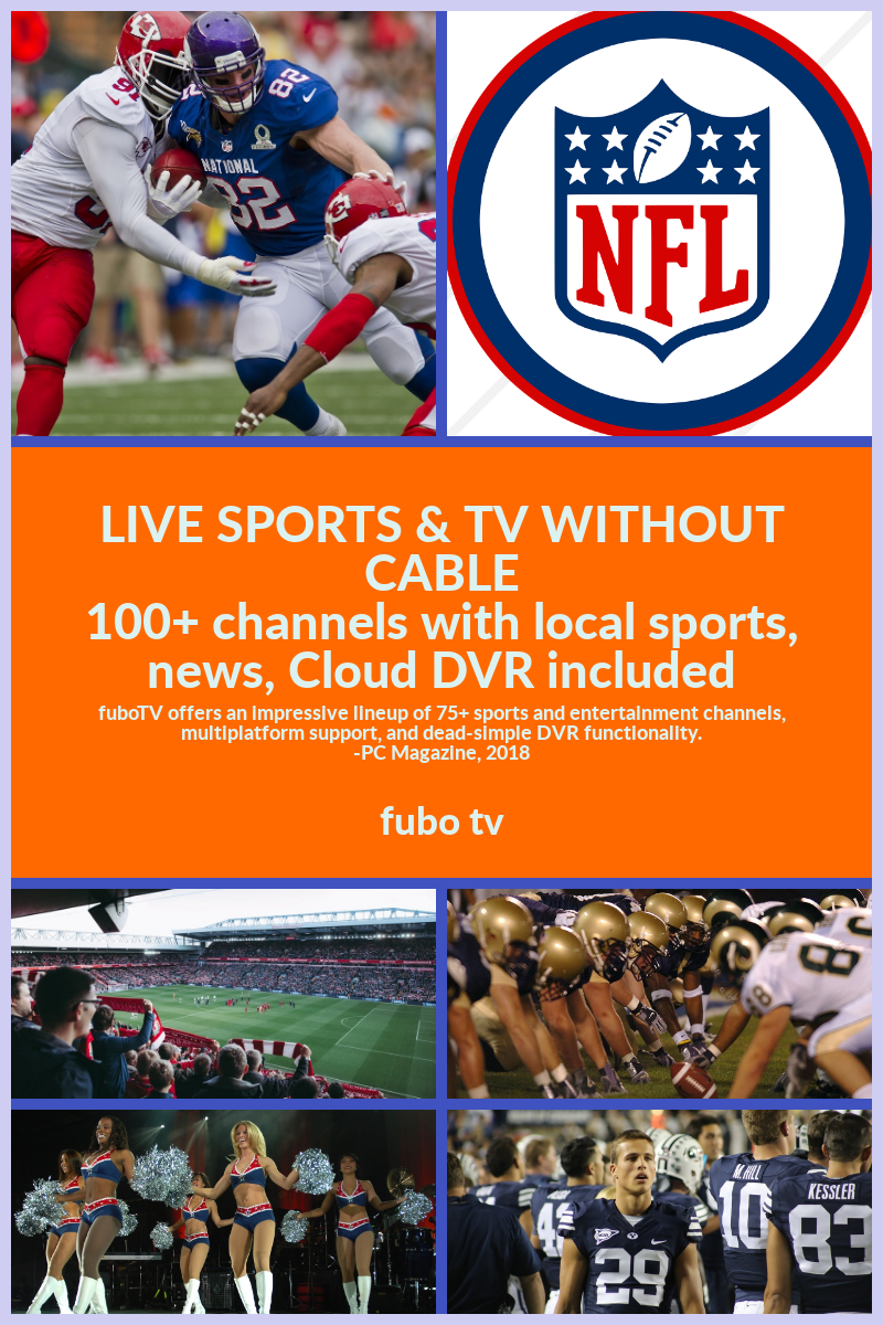 Get live sports & tv without cable, for less. people