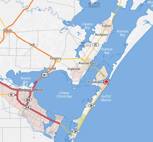 Gulf Of Mexico Vacation Spots In Texas: Port Aransas Images