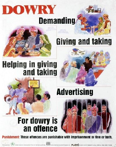 Dowry Is An Offence Health And Wellbeing Educational