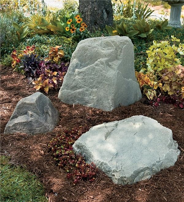 Main Image For Usa Made Flat Mock Rock 26 174 To Cover Septic Tanks Clean Out Pipes Landscaping With Rocks Landscaping Tools Landscaping Tips