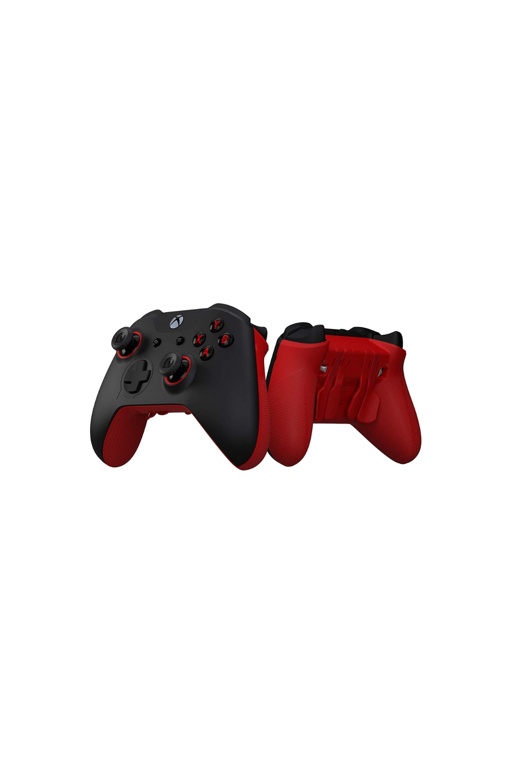 Scuf Prestige Wireless Custom Performance Controller For Xbox One Xbox Series X S Pc Mobile Gaming Accessories Xbox One Black And Red