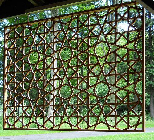 8 Point Islamic Lattice 1 Fence Design Modern Fence
